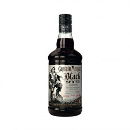 Rhum Captain Morgan Black Spiced - 70cl