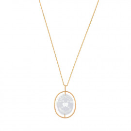 L'Amour n ° 1 crystal necklace