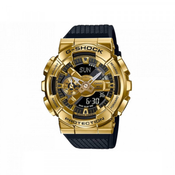 G-Shock Men's Watch - black and gold