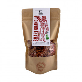 Organic toasted cereals Smart Granola red fruits - 270g