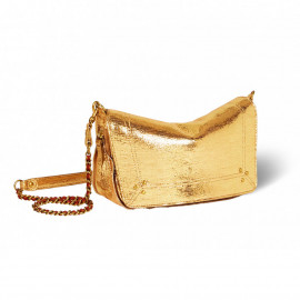Bobi S Lamé Gold Bag
