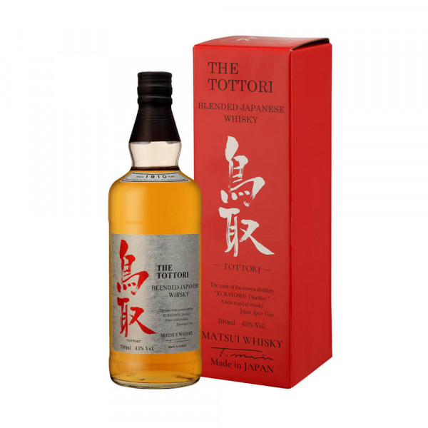 Whiskey The Tottori Blended - 50cl