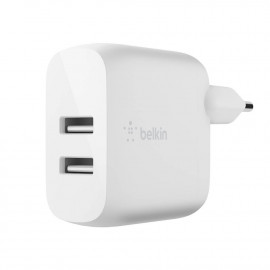 BOOST↑CHARGE™ 2-Port USB-A Power Charger 24W