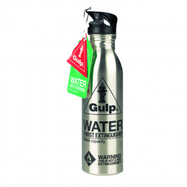 Water bottle thirst EXTINGUISHER