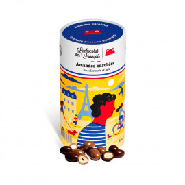 Almonds coated with chocolate - 125G