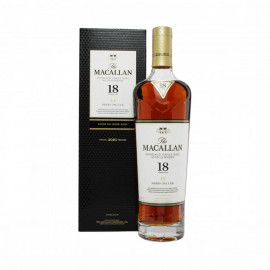 The Macallan 18 Year Old Sherry Oak Whisky - 70cl